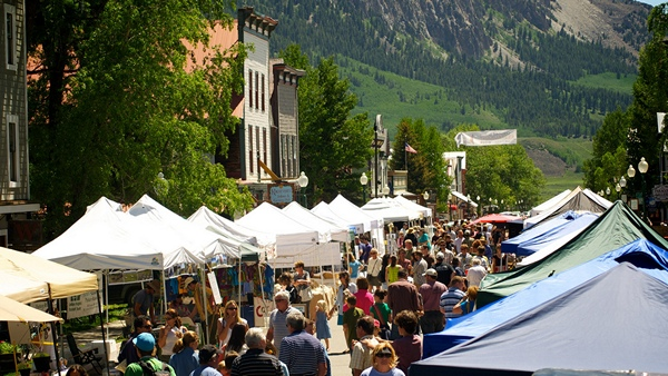 Crested Butte Farmers' Market, Crested Butte, CO