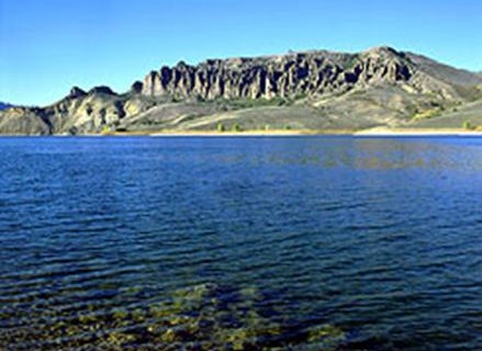 Blue Mesa Reservoir as shown on the reservoirs Facebook site.  Courtesy photo.