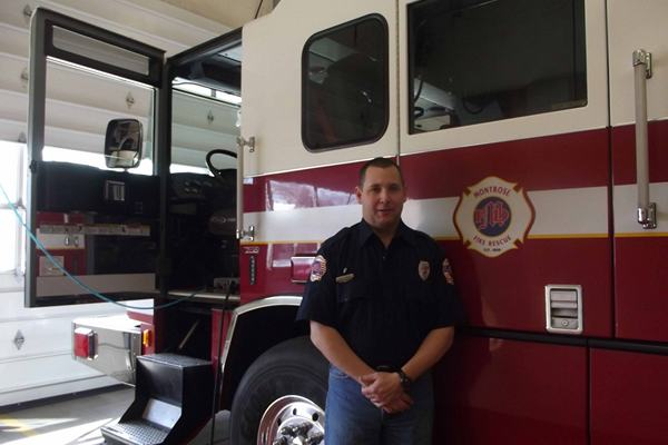 Montrose Firefighter Mark Bray, a 23-year veteran, is taking on the role of Fire Prevention Specialist.