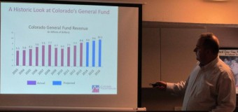 COLORADO FISCAL INSTITUTE PRESENTS INFORMATION ON TABOR, STATE'S GROWING INCOME GAP