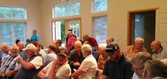 COMMUNITY MEETING DRAWS INTERESTED CROWD